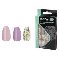 Royal 24 Glue-On Nail Tips - Chasing Dreams Coffin (6pcs) (NNAI345) (£1.23/each) ROYAL 7