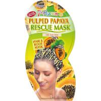 7th Heaven Pulped Papaya Hair Rescue Mask (12pcs) (£0.70/each) (5523)