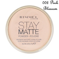 Rimmel Stay Matte Long Lasting Pressed Powder - 002 Pink Blossom (4512)
