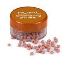Royal Bronzing Pearls (6pcs) DFAC032 (ROYAL 179) (£1.10/each)