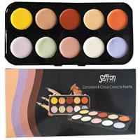 Saffron Concealer & Colour Corrector Palette (8010) (SAFFRON 79)