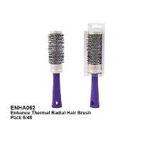 Royal Enhance Thermal Radial Hair Brush (6pcs) (ENHA062) (ROYAL 50) (£1.66/each)