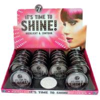 W7 It's Time to Shine! Highlight & Contour (24pcs) (£1.65/each) C/95