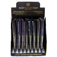 Body Collection Retractable Eye Liner (32pcs) (17511) (£0.44/each) C2