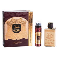 Ahlam Al Arab (Unisex Halal 80ml EDP + Deodorant) Ard Al Zaafaran (2704) (ARABIC/74)