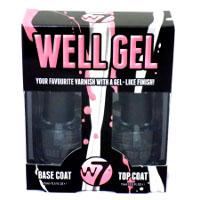 W7 Well Gel Nail Varnish Set (6pcs) (£1.83/each) B/12