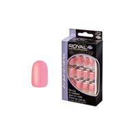 Royal 24 Glue-On Nail Tips - Petal Pink (6pcs) NNAI104 (ROYAL 124) (£1.05/each)