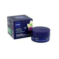 Nivea Pure & Natural Anti-Wrinkle Night Cream (50ml) (1889)