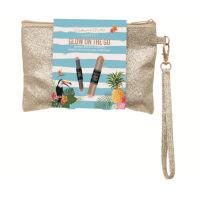 Technic Summertime - Glow On The Go Makeup Bag (8pcs) (999256) (£3.50/each) T/ XMAS-11