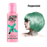Crazy Color Semi Permanent Hair Color Cream 100ml - Peppermint (4pcs) (£2.23/each) CC21