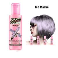 Crazy Color Semi Permanent Hair Color Cream 100ml - Ice Mauve (4pcs) (£2.23/each) CC15