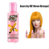 Crazy Color Semi Permanent Hair Color Cream 100ml - Anarchy UV (4pcs) (£2.23 / each) CC10