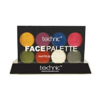 Technic Metallic Face Paint Palette (12pcs) (29709) (£1.47/each) C/99
