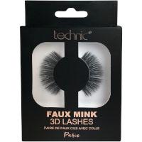 Technic Faux Mink 3D Lashes - Paris (6pcs) (£1.39/each) (29539) D7