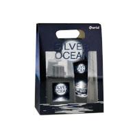 Silver Ocean Gift Set (Mens 100ml EDT + Shower Gel) Omerta (0055)