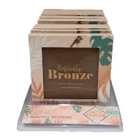 Sunkissed Naturally Bronze Matte Bronzer (9pcs) (28840) (£2.17/each) (SUNKISSED 90)