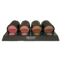 Technic Shimmer Blusher (20pcs) (29734) (£1.00/each)B/56