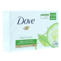 Dove Fresh Touch Beauty Cream Soap Bar - 2 Bars (2 x 100g) (PC1755) DOVE/53c