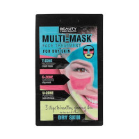 Beauty Formulas Multi-Mask Face Treatment For Dry Skin (3123) BF/85