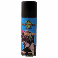 Party Success Temporary Black Hair Colour Spray - 125ml (0079) (107295)