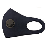Personal Protective Equipment - Navy Blue Fashion Face Fliter Mask (5537)