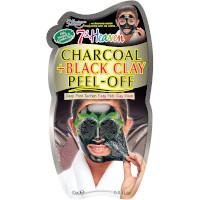 7th Heaven Charcoal + Black Clay Peel-Off Mask (12pcs) (£0.70/each) (1920)