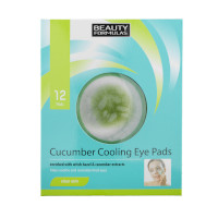 Beauty Formulas Cucumber Cooling Eye Pads (12 Pads) (8662) BF 32