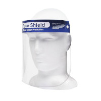 Face Shield Mask Direct Splash Protection (Personal Protective Equipment) (10pcs) (£0.30/each)