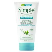Simple Daily Detox Purifying Facial Wash (150ml) (6pcs) (£1.50/each) (4419)