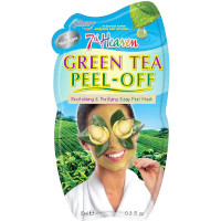 7th Heaven Green Tea Peel-Off Mask (12pcs) (£0.70/each) (6378)