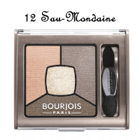 Bourjois Smoky Stories Quad Eyeshadow Palette - 12 Sau-Mondaine (1213)