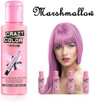 Crazy Color Semi Permanent Hair Color Cream 100ml - Marshmallow (4pcs) (£2.23/each) CC26