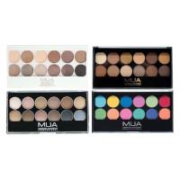 MUA 12 Shades Eyeshadow Palette - 9.6g (Options) PALETTE 7