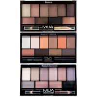 MUA Elysium Eyeshadow Palette & Eyeliner Pencil - 17g (Options) PALETTE 1