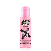 Crazy Color Semi Permanent Hair Color Cream 100ml - Natural Black (4pcs) (£2.23/each) (8264) CC29
