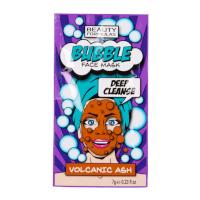 Beauty Formulas Volcanic Ash Deep Cleanse Bubble Face Mask (12pcs) (£0.55/each) (6338) BF/83