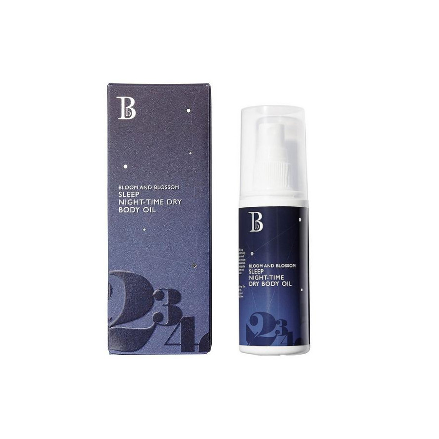 Bloom and Blossom Sleep Night Time Dry Body Oil - 100ml (0297)