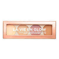 L'Oreal La Vie En Glow Highlighting Palette - 01 Warm Glow (3pcs) (£2.95/each) (1833) R364