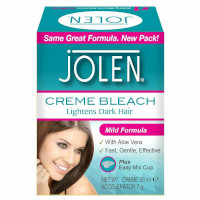Jolen Mild Formula Creme Bleach for Face & Body - 30ml (2737)