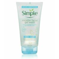 Simple Water Boost Micellar Facial Gel Wash - 150ml (6pcs) (£1.40/each) (PC9586)