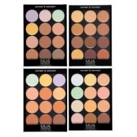 MUA Correct & Conceal Cream Palette - 12g (Options) PALETTE 5