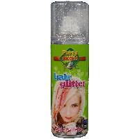 Party Success Temporary Silver Glitter Hair Colour Spray - 125ml (1014) (107446)