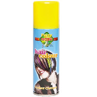 Party Success Temporary Yellow Hair Colour Spray - 125ml (0017) (107802)