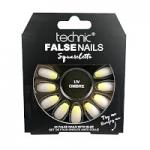 Technic False Nails - Squareletto, UV Ombre (6pcs) (£1.39/each) (20138) T/Nail-22