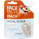 Face Facts Peach Facial Scrub - 60ml (2783) (22783-150) FF/15