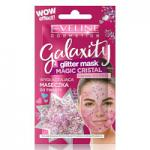 Eveline Galaxity Glitter Pink Intensely Smoothing Mask (12pcs) (£0.60/each) (1208) EVE/73
