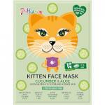 7th Heaven Kitten Cucumber & Aloe Face Mask (7857)