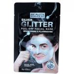 Beauty Formulas Silver Glitter Peel-Off Facial Mask (2973) BF/76
