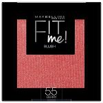 Maybelline Fit Me Blush - 55 Berry (7425) (Broken Seal) R388