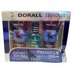 Thunder Blue (Men's 3pc Fragrance Gift Set) Dorall Collection (4794) - DAMAGED BOX